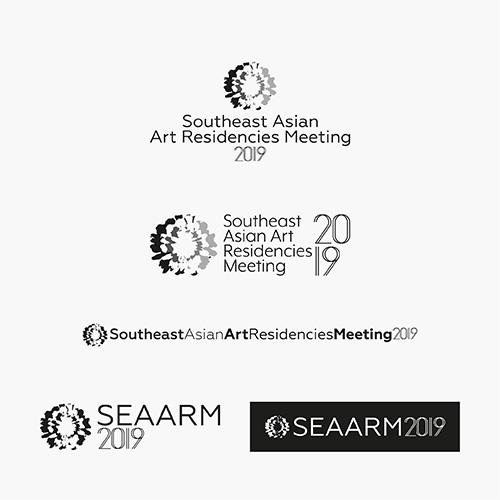 Southeast Asian Art Residencies Meeting logo 2