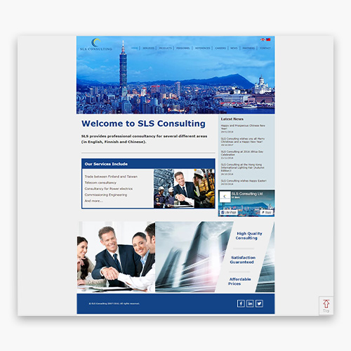 SLS Consulting web