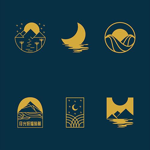 Moonlight Blessing logo ideas