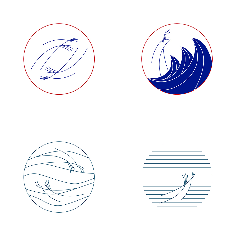 The Wind of Xingang logo ideas 01