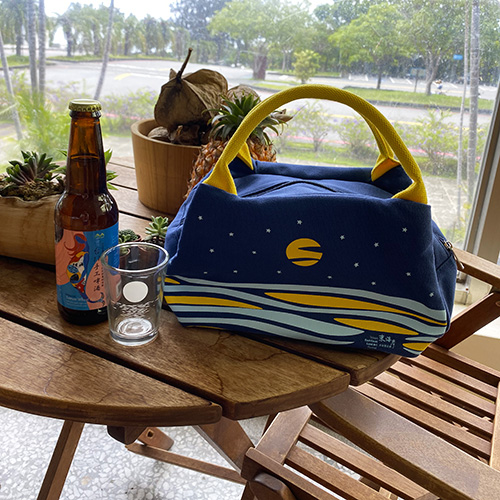 Land Art Festival Lunch bag 01